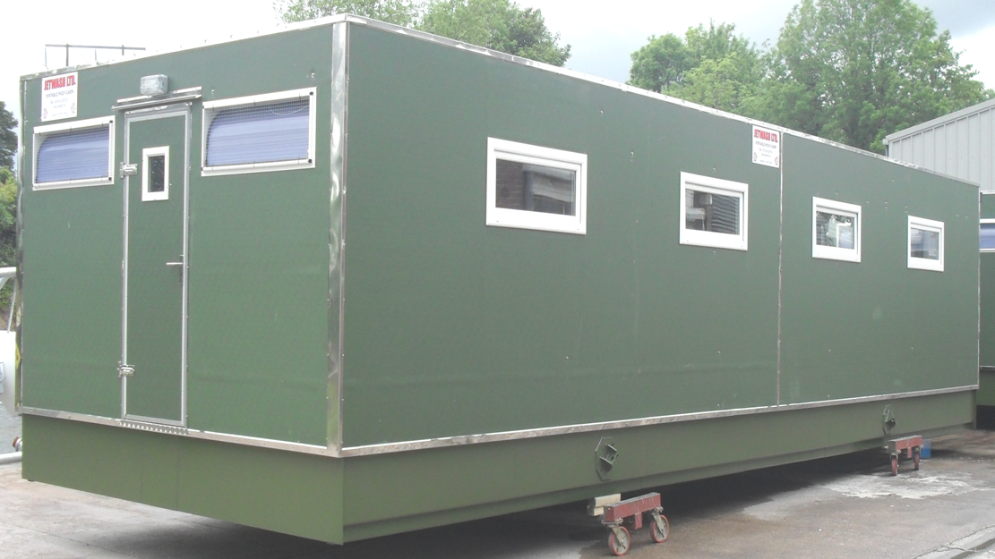 weaner and finisher cabins by jetwash ltd